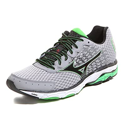 c0386207d1d5 Mizuno Wave Inspire 11 Running Shoes Grey: Amazon.co.uk: Shoes & Bags