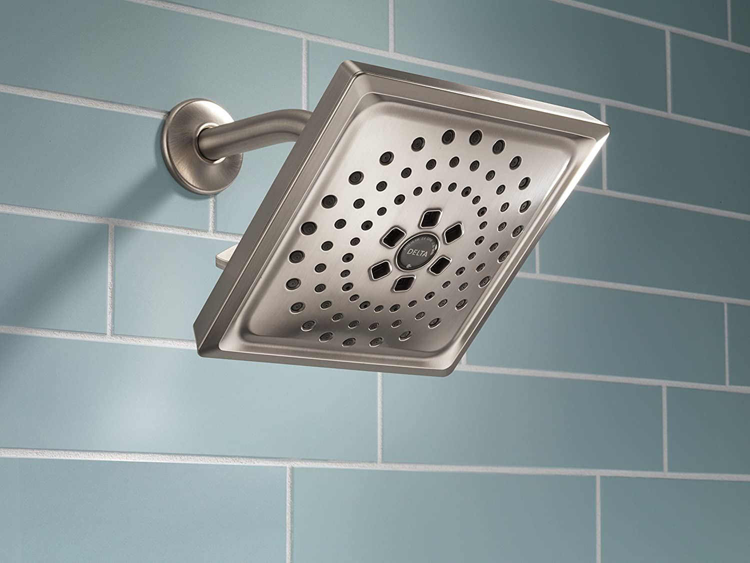 Colorful Delta Rain Shower Head With Handheld Inspiration