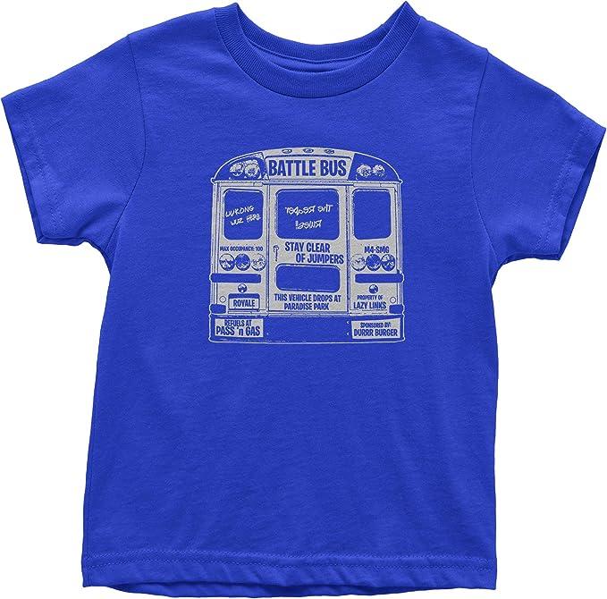 Battle Bus Fortnight Fort Royale Kid/'s T-Shirt