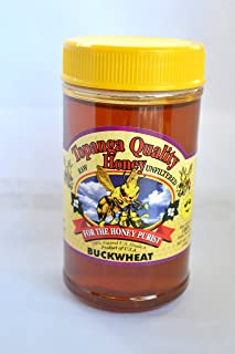 product image for Topanga Quality Honey (Buckwheat) Raw, Unfiltered, Unpasturized, Best Quality, All Natural, Kosher - 1 Pound each