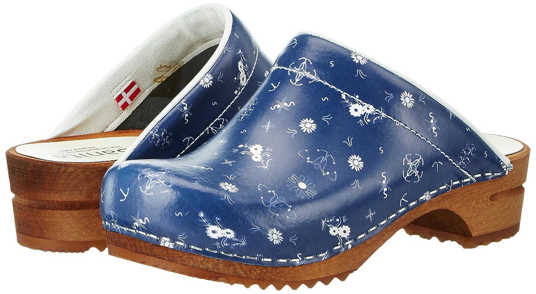 Sanita Selda Open Damen Clogs Clogs Damen Blau (Navy) ffd9bb
