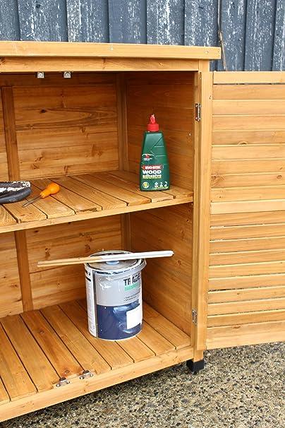 Caseta de jardín para el almacenamiento de herramientas: Amazon.es: Jardín