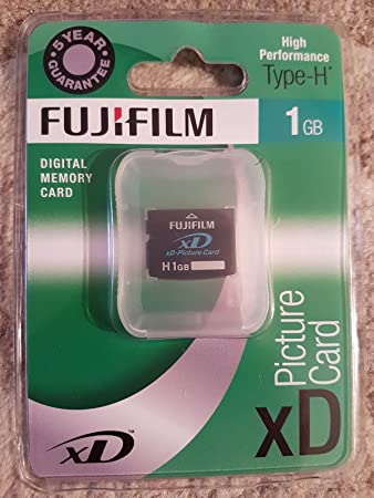 Amazon.com: Fuji film h1gbxd 1 GB Tarjeta XD Picture ...