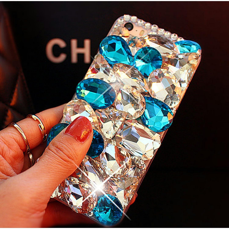 Sky blue crystal