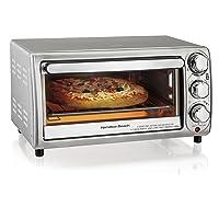 Hamilton Beach 4-Slice Countertop Toaster Oven