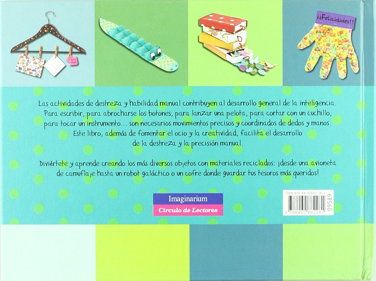 Crea y recicla (Crea con…): Amazon.es: Navarro, Àngels, Picazo, Cristina: Libros