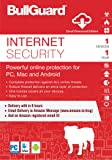 BullGuard Internet Security Latest Version - 1 Device, 1 Year (Email Delivery in 2 hours - No CD)