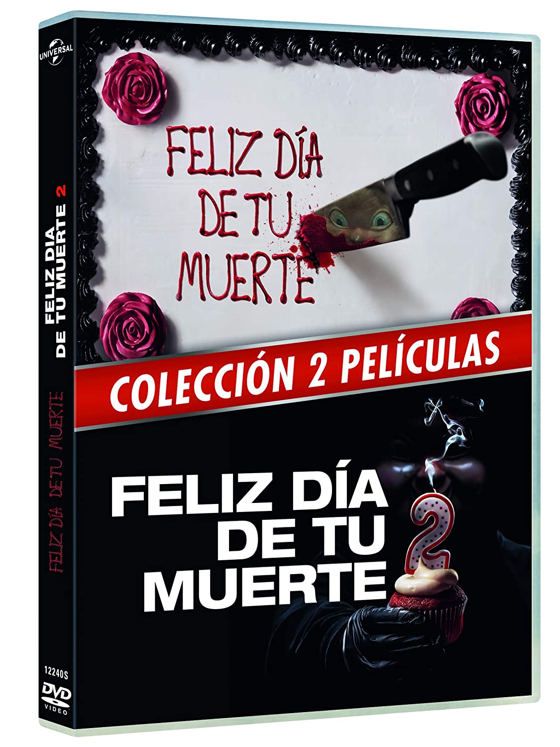 Pack 1+2: Feliz Día De Tu Muerte [DVD]: Amazon.es: Jessica Rothe, Israel Broussard, Phi Vu , Christopher Landon, Jessica Rothe, Israel Broussard, Blumhouse Productions: Cine y Series TV