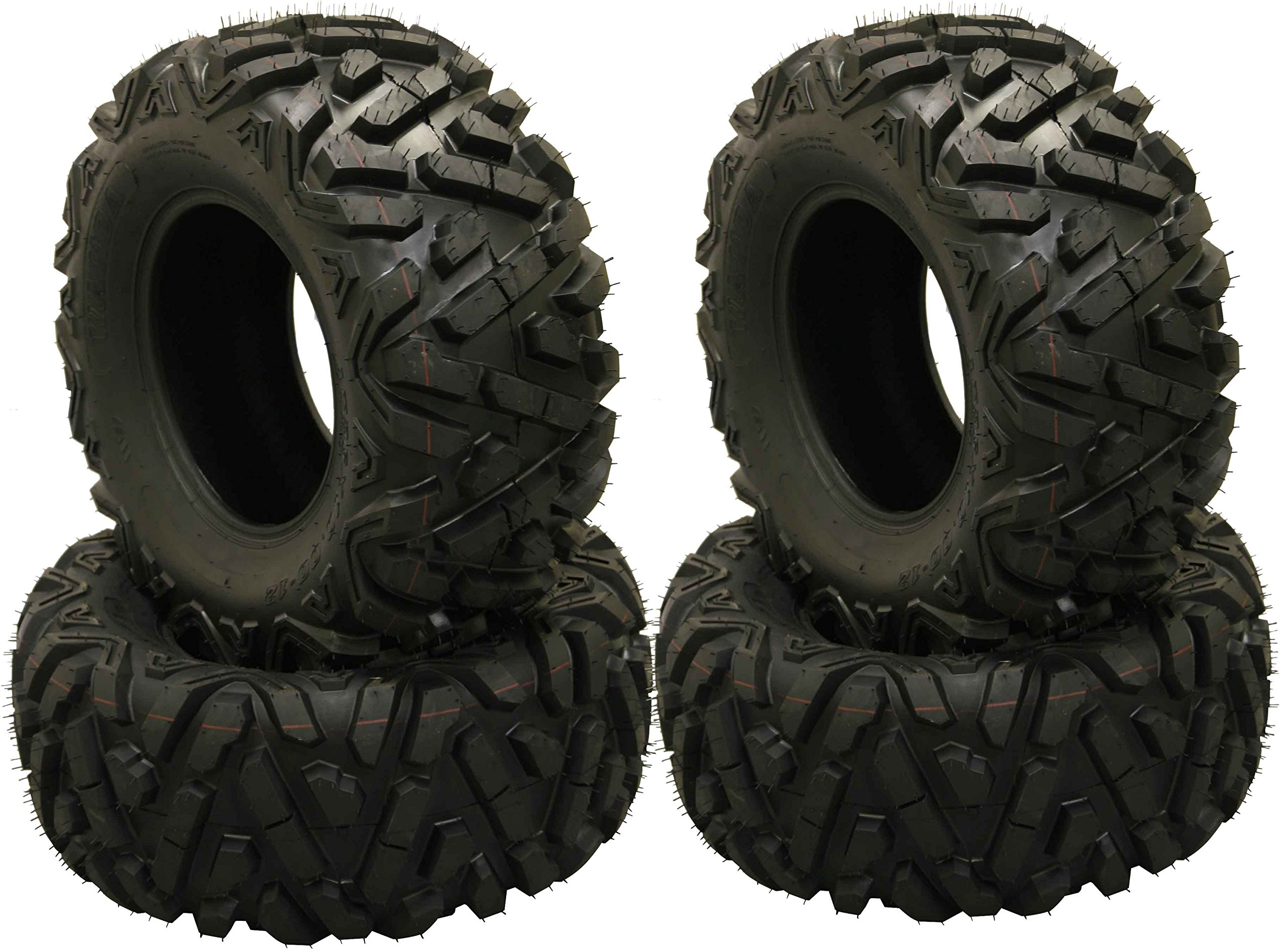 Set of 4 WANDA ATV Tires AT 27x10-12 /6PR P350 - 10170