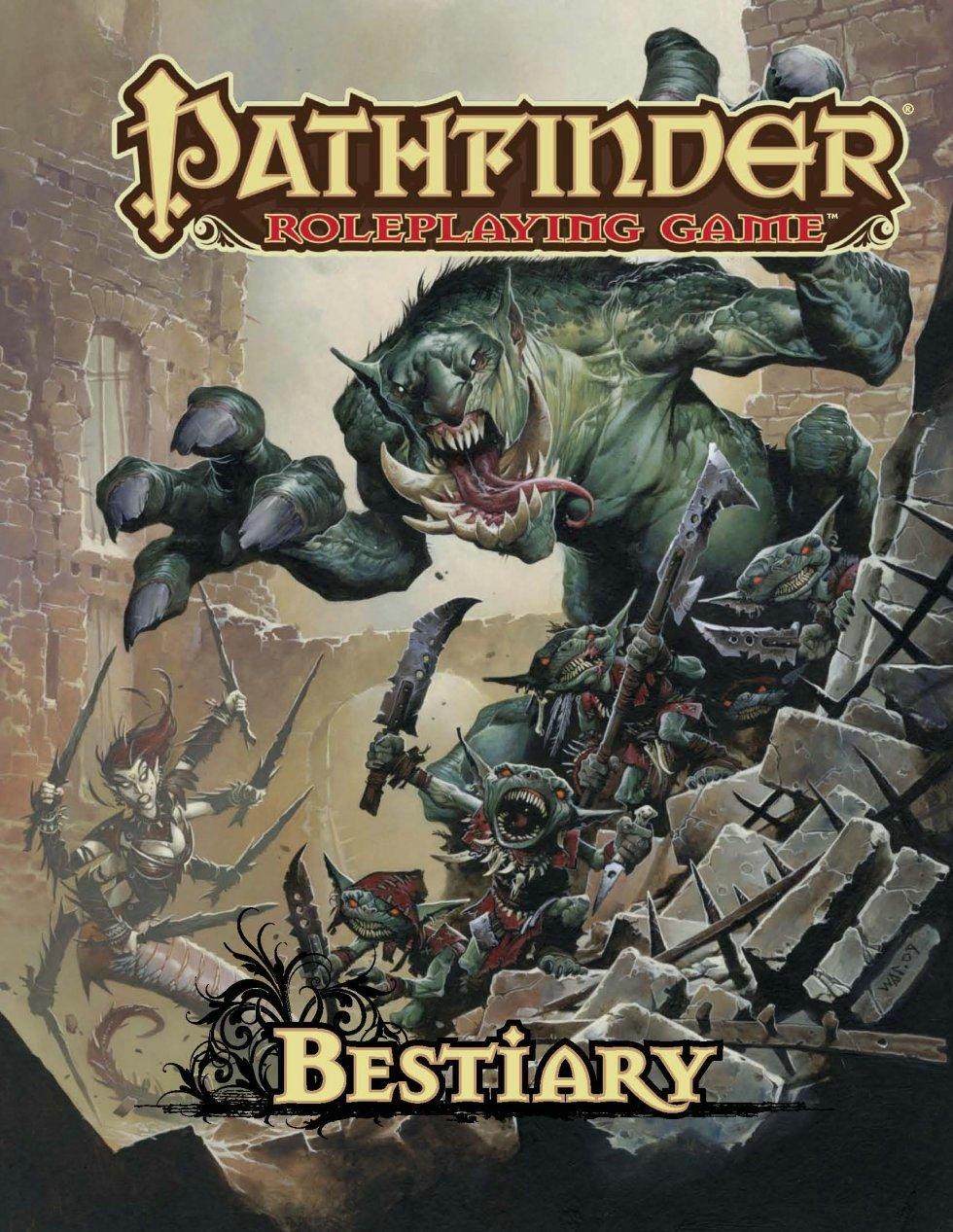 Pathfinder Roleplaying Game: Bestiary 1: Jason Bulmahn: 8601200662351:  Amazon.com: Books