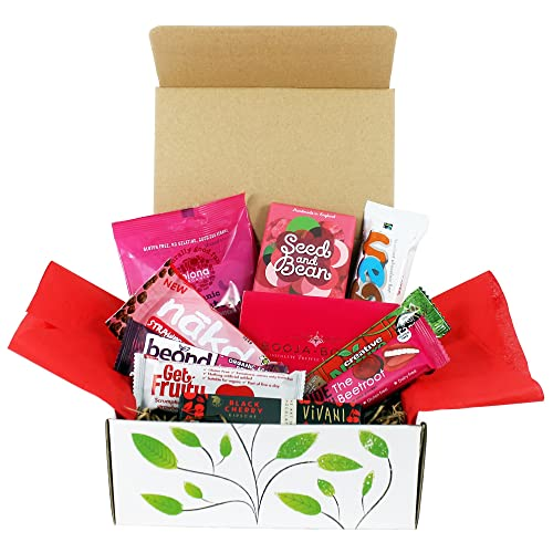 The Goodness Project Vegan Love Chocolate and Snack Hamper Gift Box