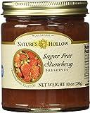 Nature's Hollow Sugar-Free Strawberry Jam Preserves, 10 Ounce