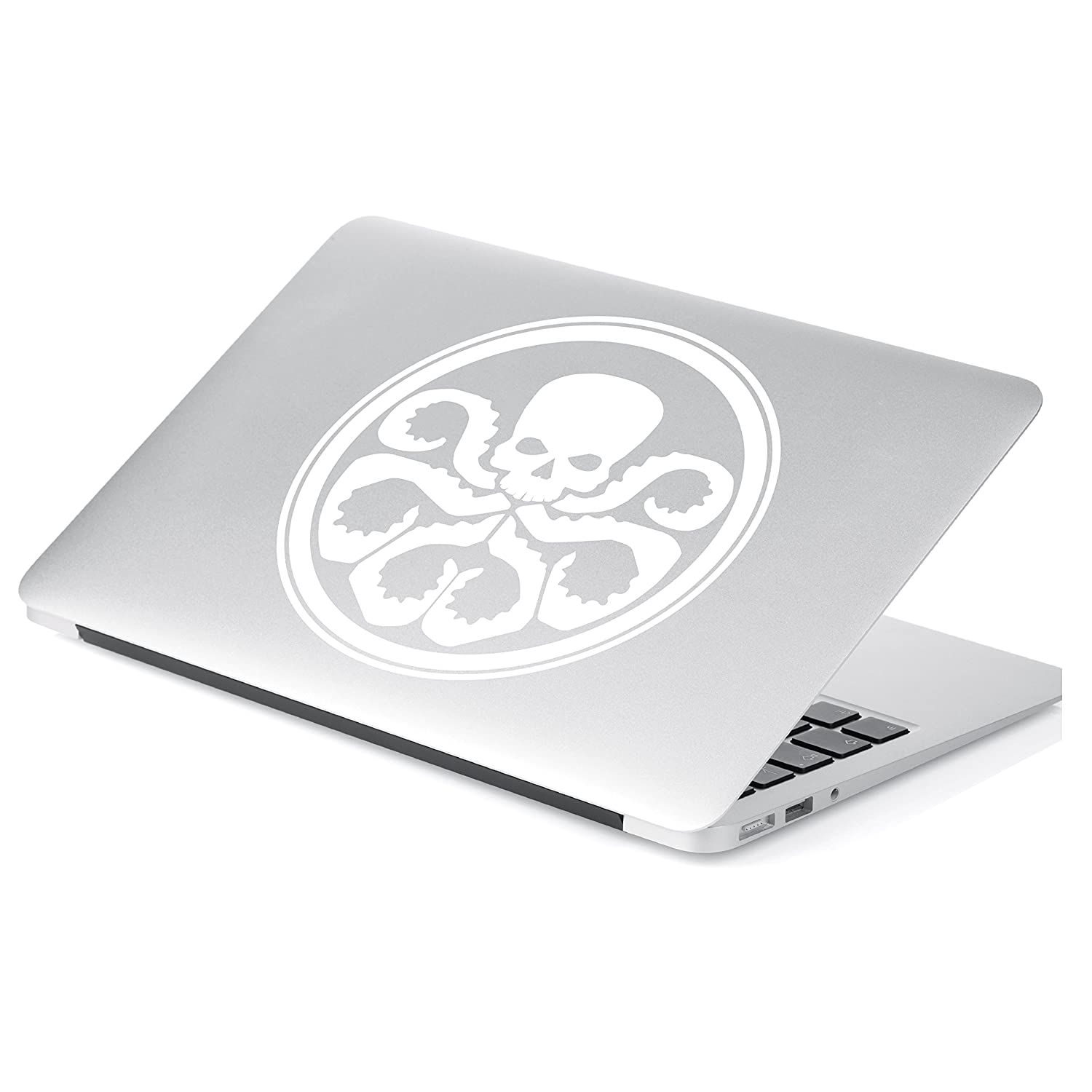 # 485 # 485 Laptop and More 6 x 6 Yoonek Graphics Hydra Inspired Marvel Agents of Shield Decal Sticker for Car Window 6 x 6, White Laptop and More