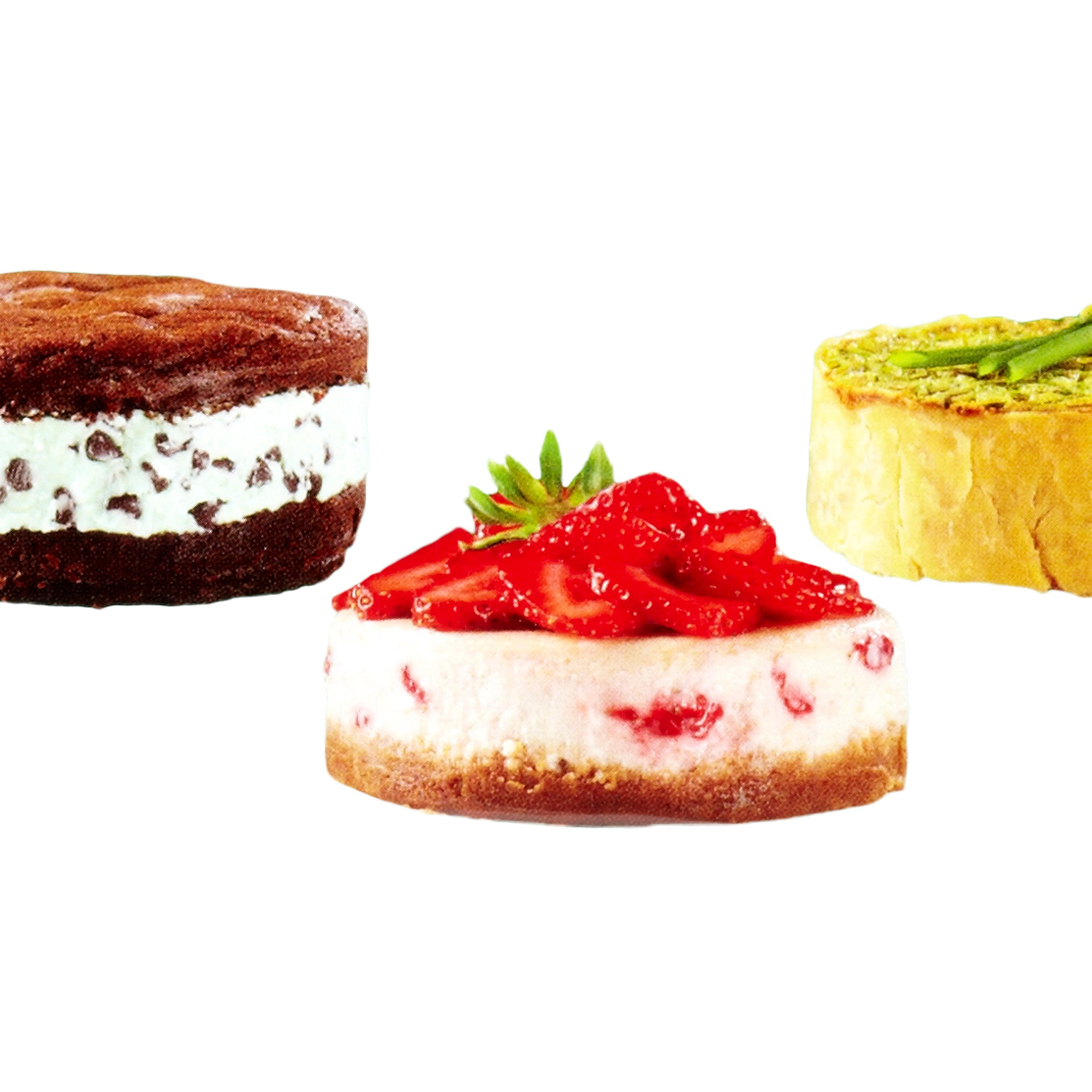 Wilton 4-Inch Mini Springform Pans Set, 3-Piece for Mini Cheesecakes, Pizzas and Quiches by Wilton (Image #6)