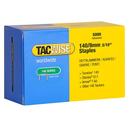 12 Mm Quantity 5000x Modern Design Tacwise Staples 140 Diy Tools & Workshop Equipment