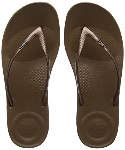 a81782d785b0 FitFlop Women s IQUSHION FLIP Flop-Solid