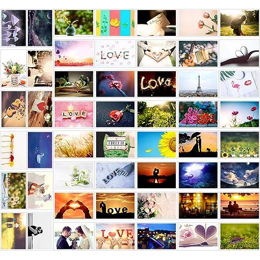 52 Postkarten für Hochzeit, Comius 52 Wochen Liebespostkarten Hochzeit, Hochzeitsgeschenk und kreative Alternative zum Gästeb