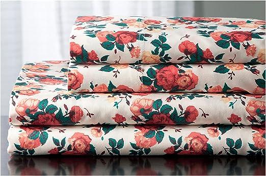 double rose Elite textiles ® microfibre plat