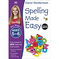 Spelling Made Easy, Ages 5-6 (Key Stage 1): Supports the National Curriculum, English Exercise Book