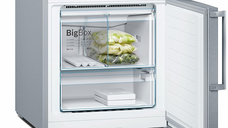 Bosch KGN56XI40 Serie 4 A+++ 325 kWh//Jahr 193 cm No frost Freistehend 105 L Gefrierteil Gefrier-Kombinationen 400 L K/ühlteil