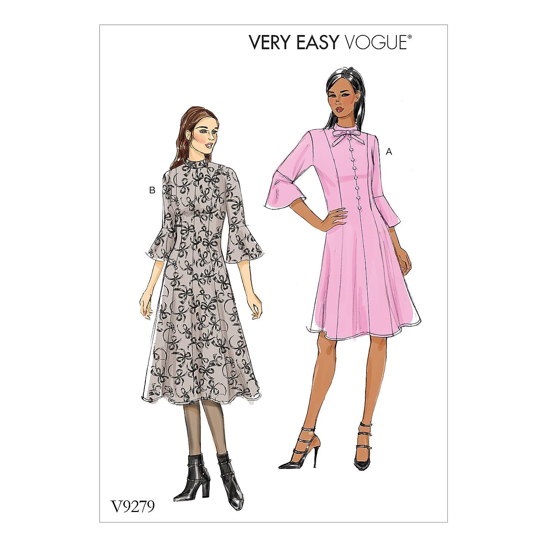 Vogue Patrones de Costura para Vestidos, Tejido,, 15 x 0,5 x 22 cm ...