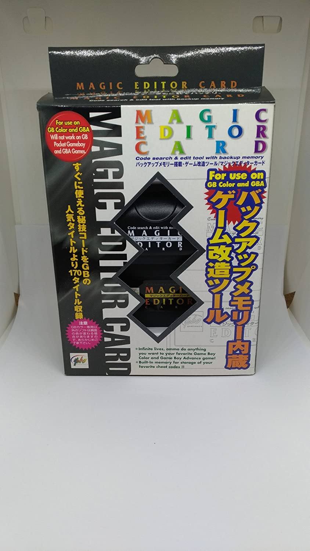 Amazon com: Yobo GBC Magic Editor Card Game Code for GameBoy