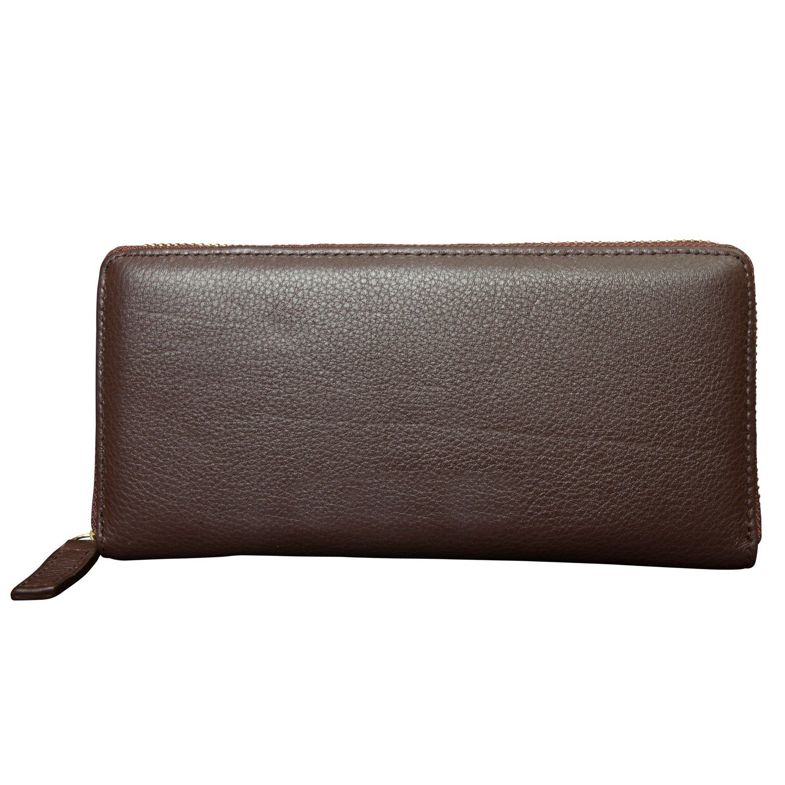 Canyon Outback Leather Marydale Canyon Zip Wallet-Brown