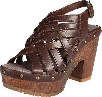 7d56826acaa Big Buddha Women's Yell Platform Sandal