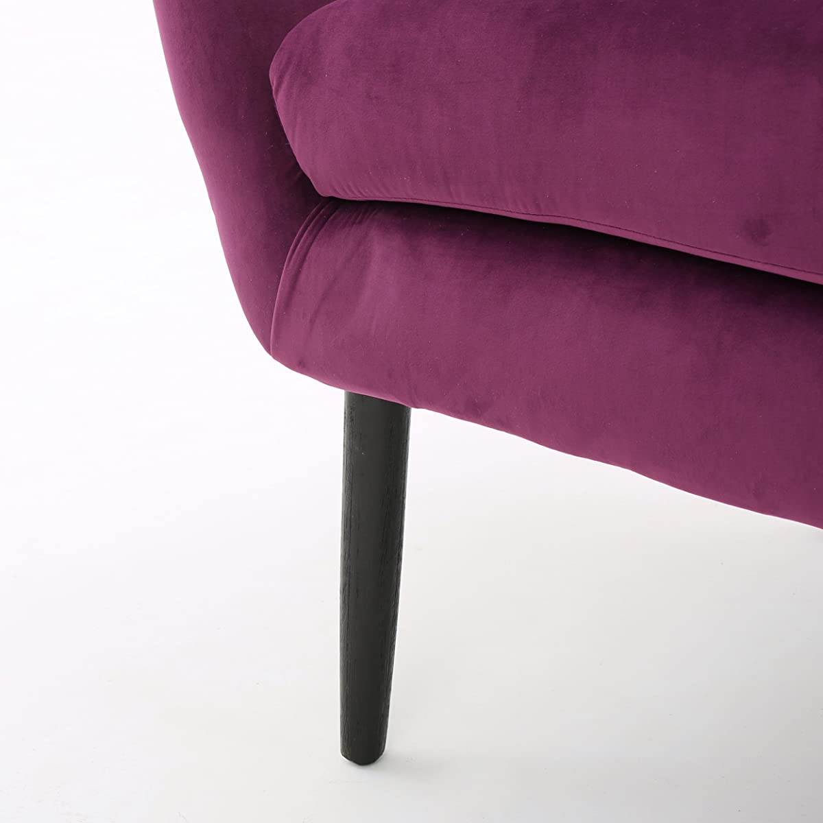 Halifax | Velvet Button-Tufted Arm Chair | Fuchisa