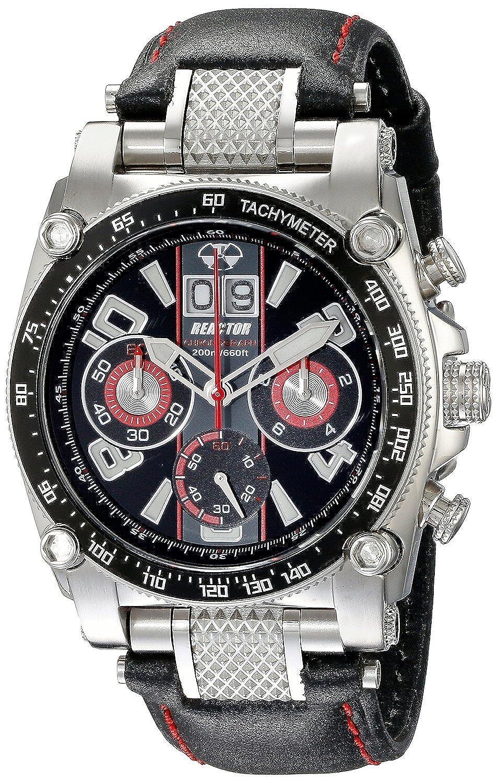 [リアクター]REACTOR 腕時計 Analog Display Japanese Quartz Black Watch 41201 メンズ [並行輸入品] B0169ZW2GO