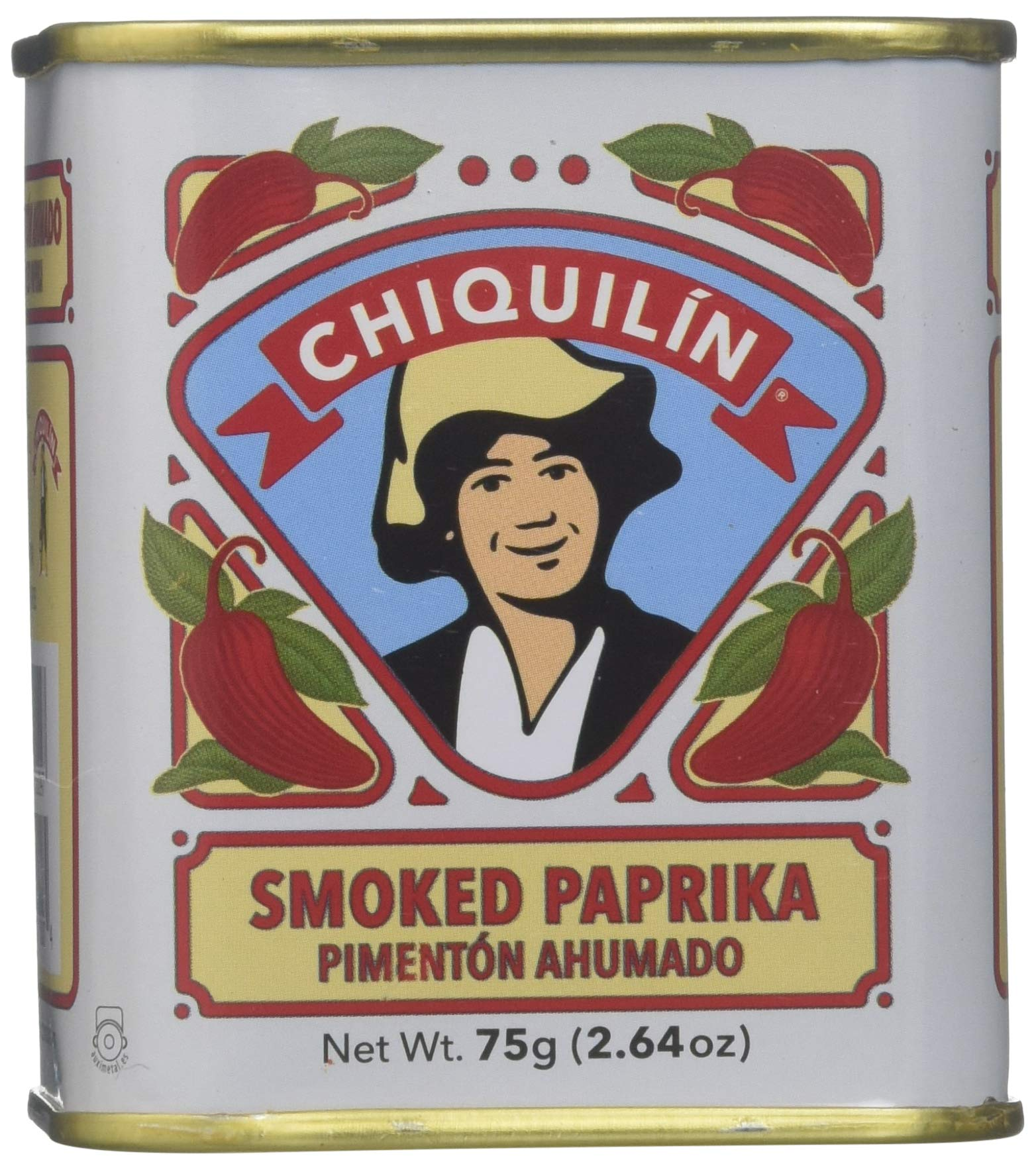 Chiquilin Smoked Paprika, 2.64 oz - Pack of 12