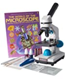 JuniorScope Ultimate Microscope for Kids (includes Science Experiments, Accessory Slide Kit)