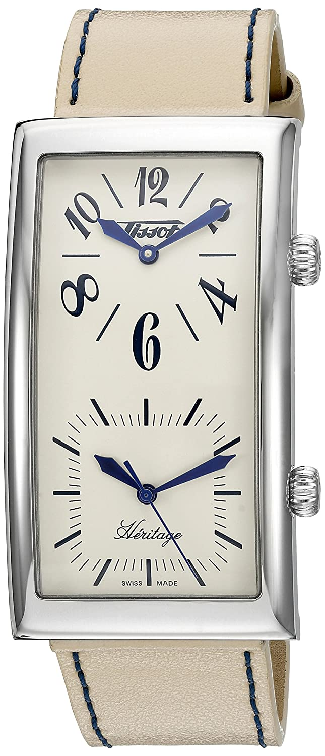 Tissot Women s T56161379 Heritage Dual Time Watch
