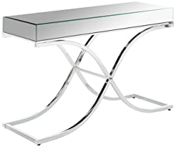 247SHOPATHOME IDF-4230CRM-S, sofa table, Chrome