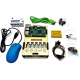 Piper Mini - a Raspberry Pi STEM Computer Kit for Learning Electronics and Coding with 50 Projects
