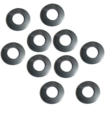 Amazon.com: M10 Rubber Washer 10mm Form A Black Rubber Washers. by ...