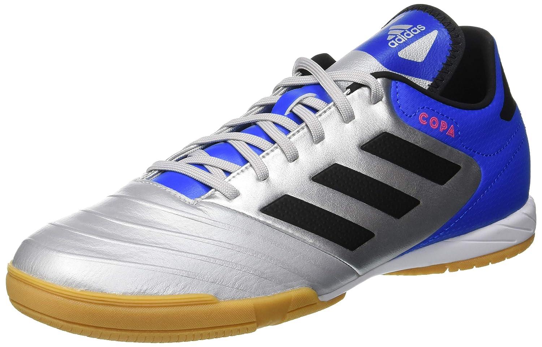 adidas Herren Copa Tango 18.3 in Futsalschuhe, Weiß/Schwarz, 47 1/3 EU Weiß/Schwarz CP9018