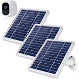 iTODOS 3 Pack Solar Panel Compatible with Arlo Pro 2, 11.8Ft Outdoor Power Charging Cable and Adjustable Mount ,Not for…