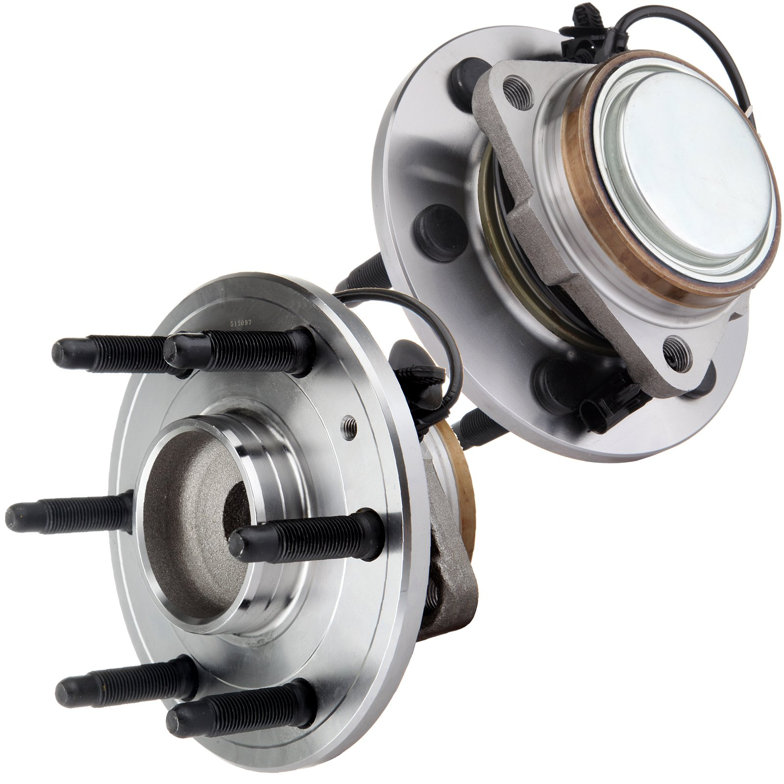ECCPP 2 Front Wheel Hub Bearing Assembly For Suburban 1500 07-14 Tahoe 07-13 6 Lug-ABS by ECCPP