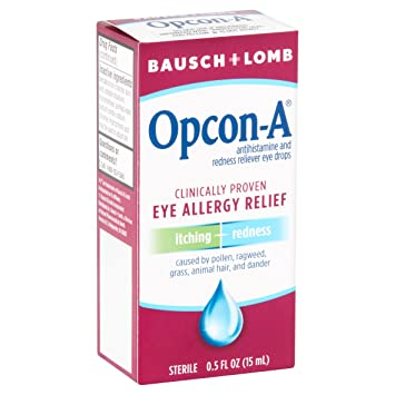 Eye Allergy Drops >> B L Allergy Eye Drops Size 5z Opcon A Allergy Relief Eye Drops
