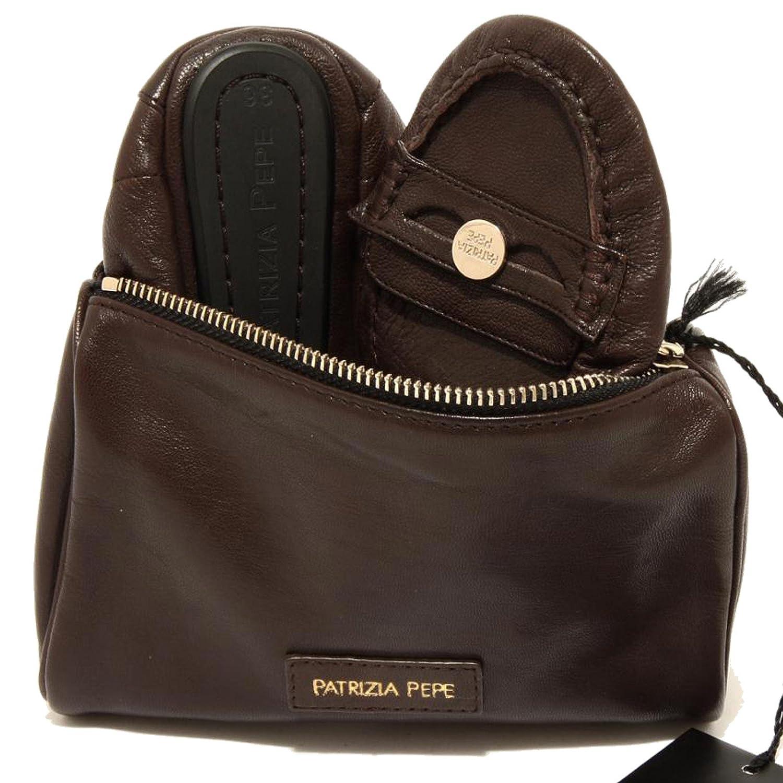 Patrizia Pepe Damenschuhe 96651 Ballerina da borsetta Pelle Scarpa Damenschuhe Pepe Bag Schuhes Damens b3c352
