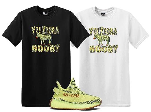 We Will Fit Bird Shirt to Match The Yeezy Boost 350 V2 SEMI Frozen Yellow  YEBRA e62d40f42