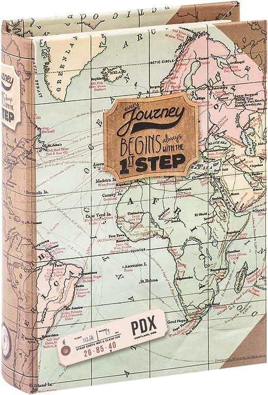 Caja con forma de libro Legami Map: Amazon.es: Oficina y papelería