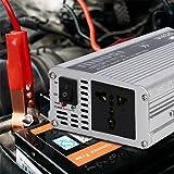 LESHP Car Power Inverter Converter, 500W 12V DC To