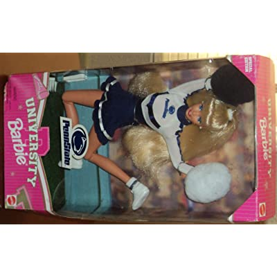 Penn State University Barbie Doll: Toys & Games