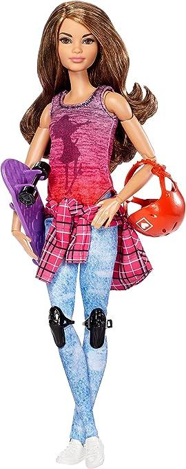 Amazon.es: Barbie Movimiento sin límites - Muñeca Patinadora ...