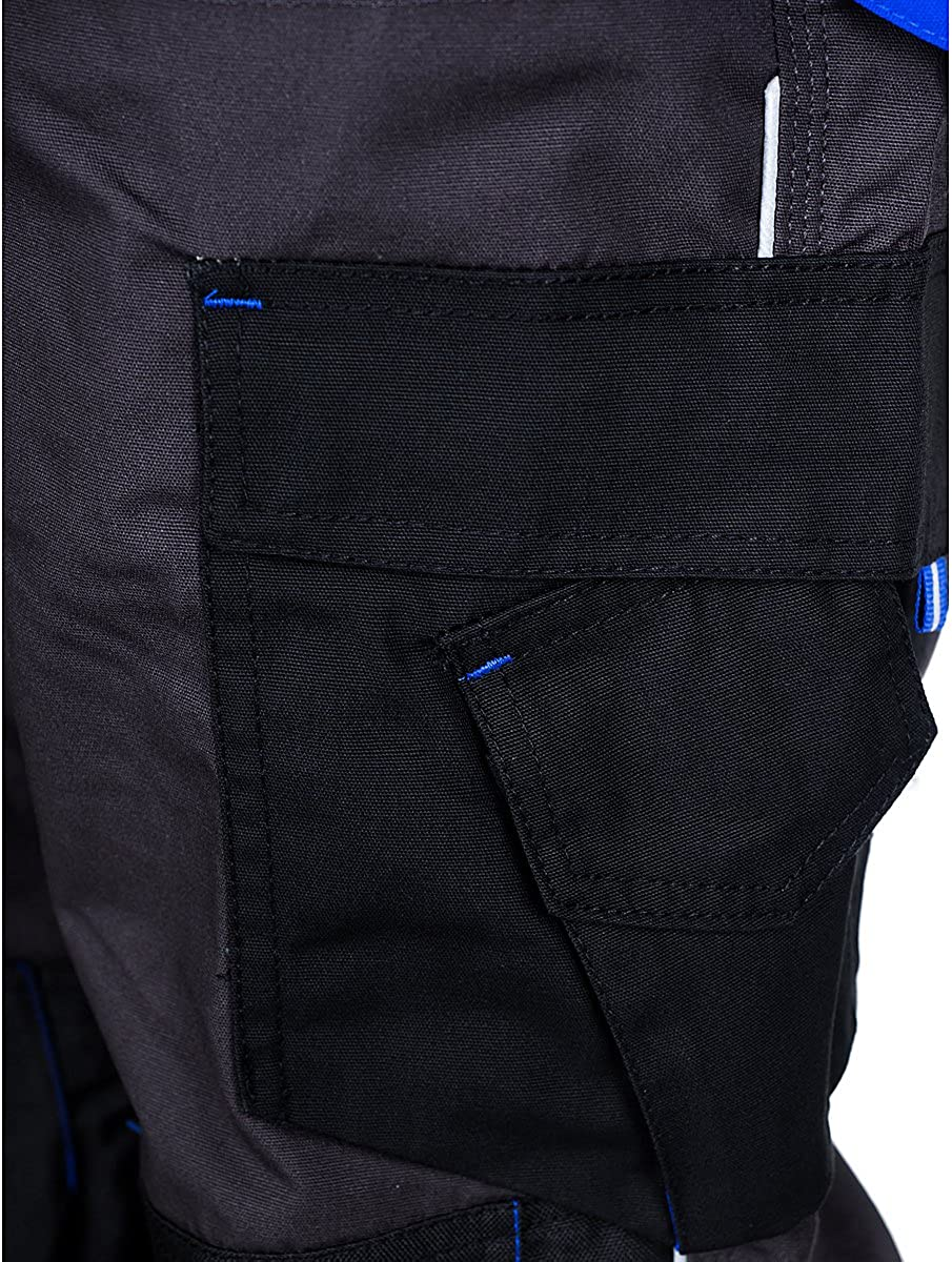 viele Farben Stenso Prisma/® Herren Arbeitshose Bundhose//Cargohose mit Multifunktions//Kniepolster-Taschen