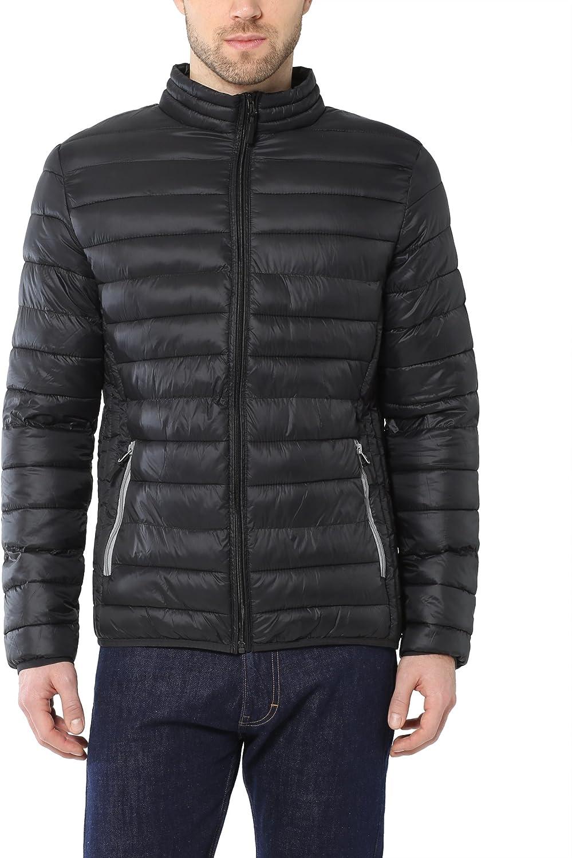 Lower East Mens Stepp Polyfill Long Sleeve Jacket