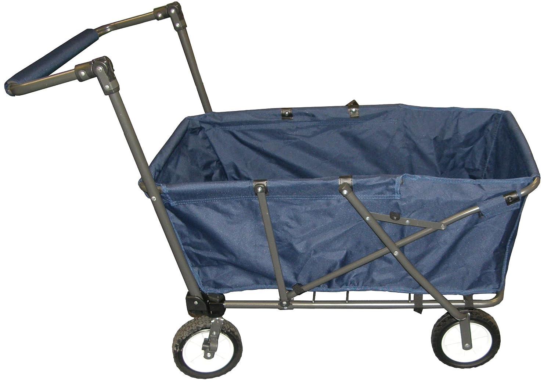 folding garden cart. Amazon.com : Impact Canopy Collapsible Folding Outdoor Wagon Utility Cart, Blue Garden \u0026 Cart D