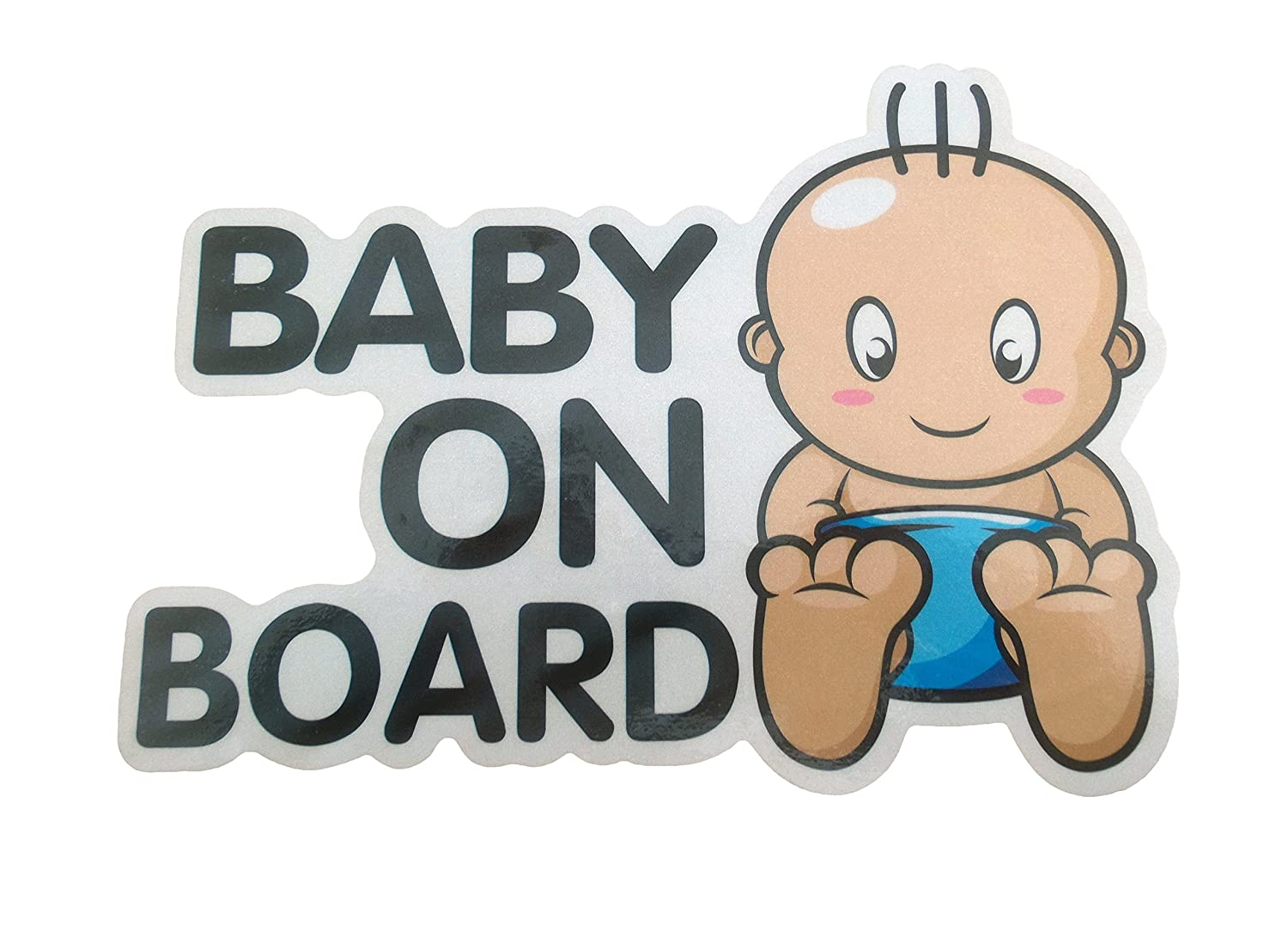 Car Sticker Baby is On Board Sign Boy Girl Newborn Vinyl Safety Baby in Vehicle Automobile Window Decoration For Better Living
